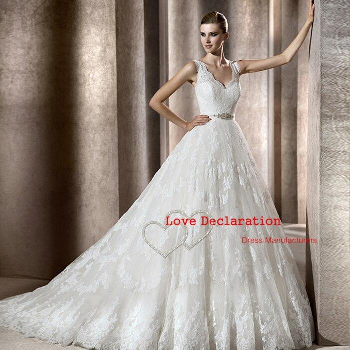 2015 Sexy Custom Made vestido de noiva See Through...