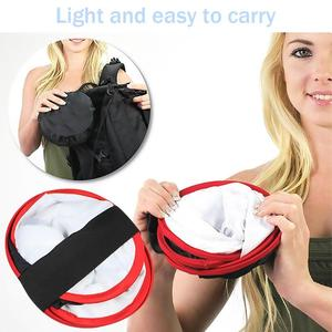 Image 5 - Portable Collapsible Softbox 4*4*2cm for Yongnuo YN600 YN900 LED Light Panel Portable Lighting Modifier for Photo Studio Softbox