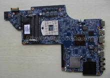 45 days Warranty For hp Pavilion DV7 DV7-6000 639389-001 laptop Motherboard for intel cpu with HD6490/1G non-integrated