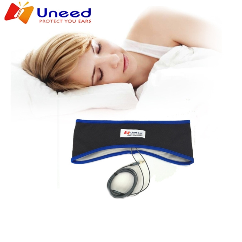 Comfortable Thin Lycra Fabric Sport Earphone Anti-noise Sleeping Headphone Sweatband Sports Headband Stereo Headset sport sleeping headset headband earmuff wire headphone earphone ear cup stereo noise cancelling anti snoring