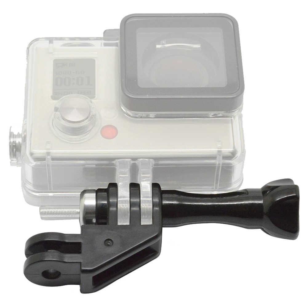 90 градусов адаптер направления локтевое крепление с накатанной головкой Винт для GoPro Hero 4/3 +/3/2/1 и SJCAM SJ4000 5000 Черный