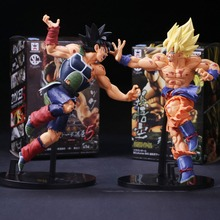 20cm Dragon ball Son Goku Kakarotto model 2 colors super hero Action figures dolls DIY collection toys Educational gifts classic