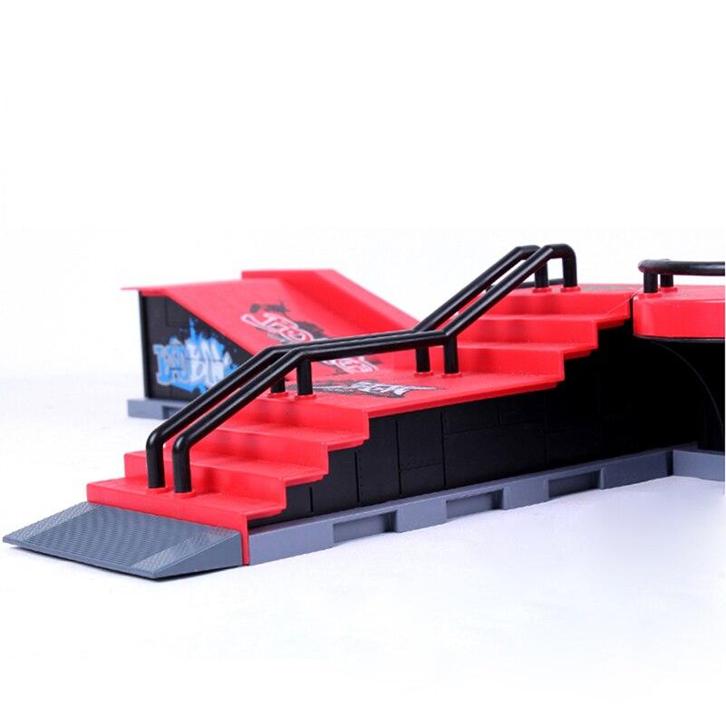 Mini Skateboard Toys Fingerboard Finger Skateboard Ramps A-F Skate Park For Deck Finger Board Games Parks Ultimate Parks Gifts