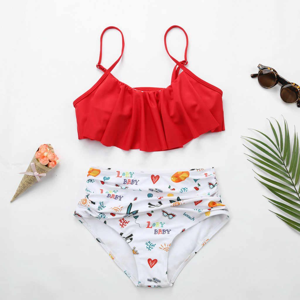 AUSTINBEM المرأة طباعة الأزهار بدلة لركوب الأمواج عرضة ملابس السباحة المشاهير نمط لينة اثنين wpiece بحر stroje kąpielowe # y10