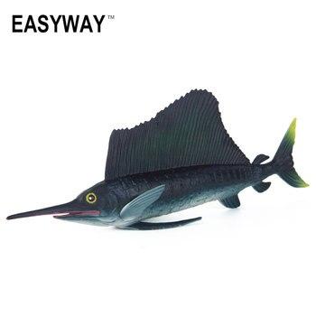 Оригинальная модель Sailfish EASYWAY, игрушки для детей в виде морских животных, пластиковые модели для экшн-игр и игрушек на день рождения