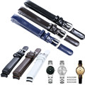 AUTO Watch Strap for CK Calvin Klein K4323216/K4323209/K43236 10mm Pin Buckle + Genuine Leather Watch Bands Strap + FREE TOOLS