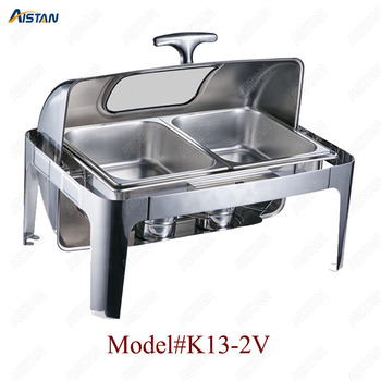 K13-1 13L stainless steel commercial chafing dish/buffet for hotel, banquets and restaurant 1