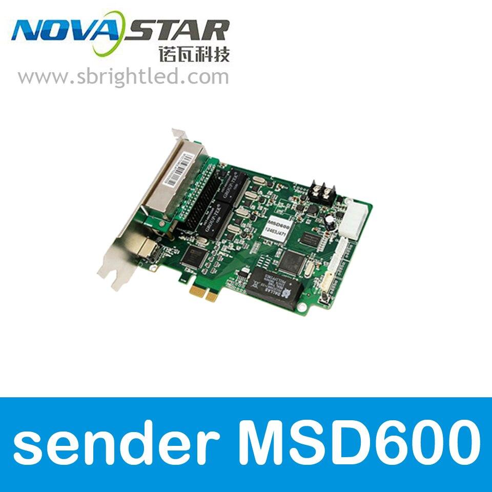 NOVASTAR MSD600 NOVA Отправка карты для светодио дный полноцветного светодио дный отображения видео настенный экран