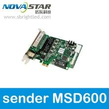 NOVASTAR MSD600 NOVA отправка карты для Светодиодный полноцветного светодиодный дисплей настенный видеоэкран