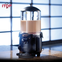 ITOP 5L/10L Chocolate Dispenser Electric Baine Marie Mixer,Commercial Hot Coffee Milk Wine Tea machine