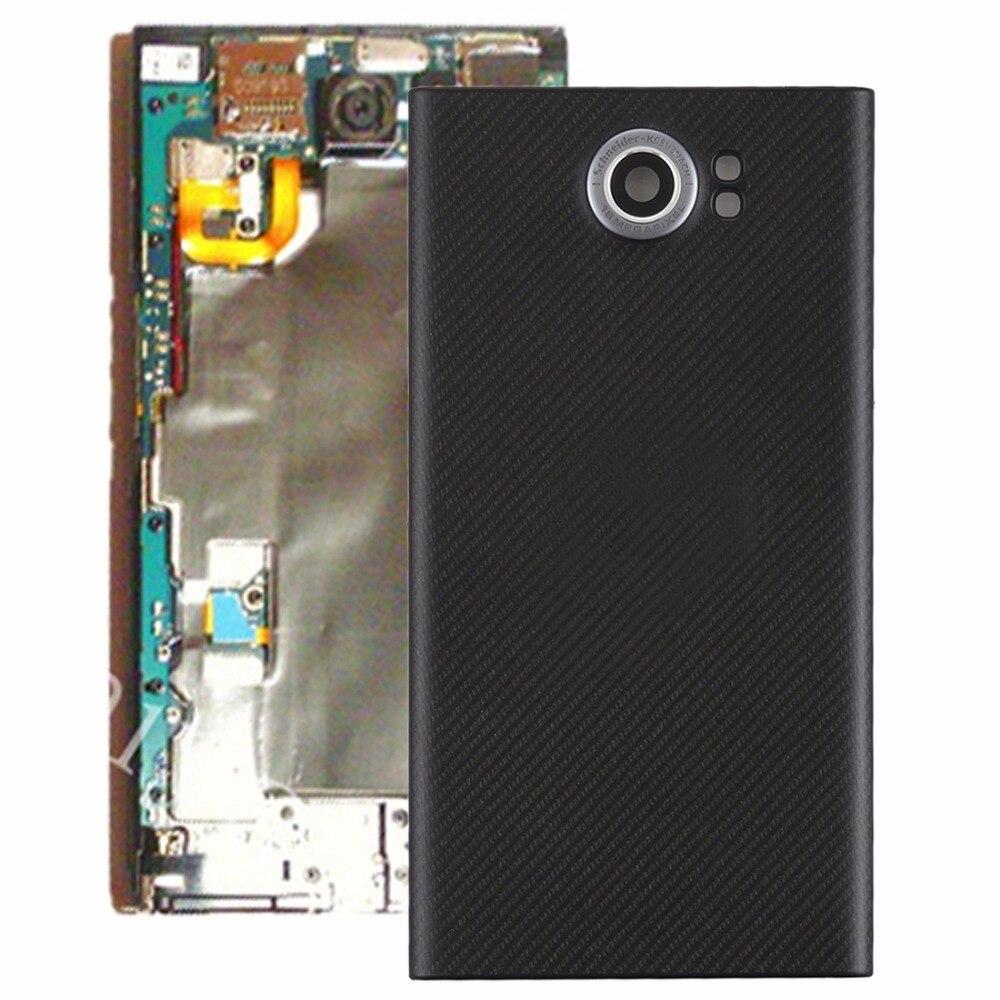 Back Cover with Camera Lens for Blackberry Priv (EU Version)(Black)(China)