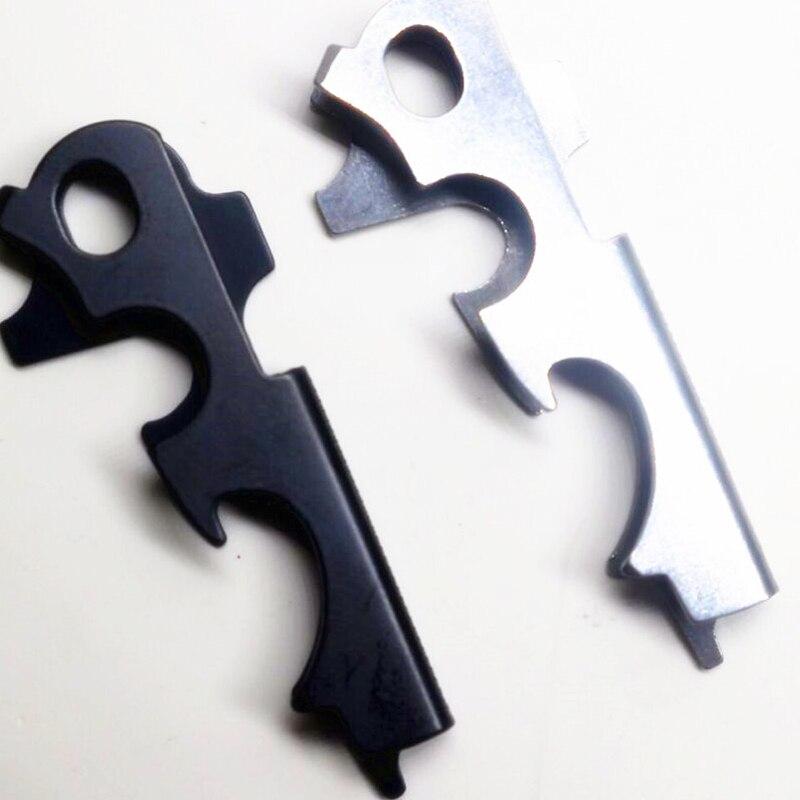Купить с кэшбэком 8-in-1 Key Clip Outdoor Multi-functional Key Combination Tool EDC Tool Screwdriver Survival Bottle Opener