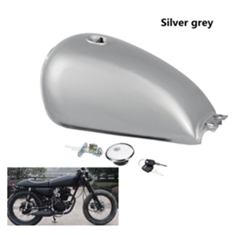 Cafe Racer Fuel Tank 9L 2.4 Gallon Motorcycle Metal Gas Tanks For Suzuki GN125 touch panel for proface hmi gp2501 sc11 repair