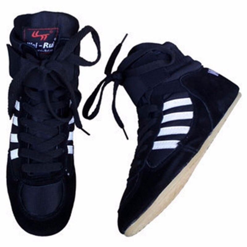 Sport & Unterhaltung Authentische Wrestling Schuhe Verisign Für Männer Training Schuhe Sehne Am Ende Leder Turnschuhe Profiboxen Schuhe Mangelware
