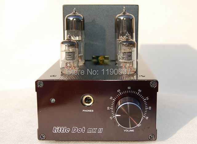 6J1+6N6 Tube Headphone Amplifier / Pre-amplifier upgrated Finished Product Universal vacuum tube Headphone Amplifier