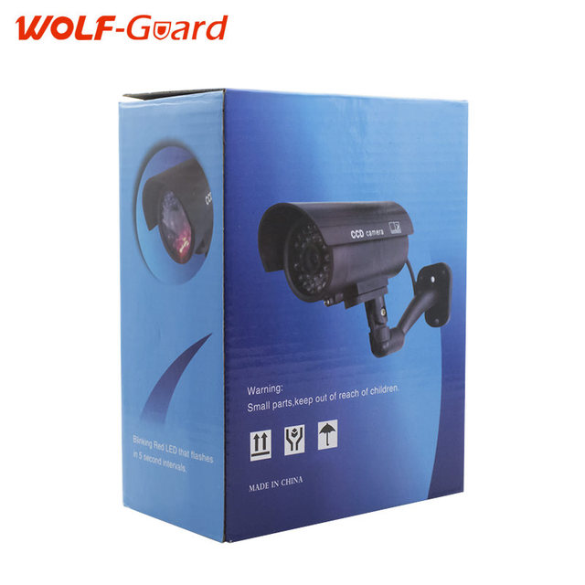 Waterproof Dummy CCTV Camera With Flashing LED For Outdoor or Indoor