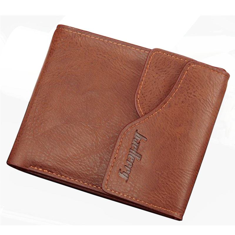 цены на Hot promotions! Short Men Wallet Bag Brand Fashion Soft Leather Business Card Holder Coin Purse Men's Wallets Free Shipping 2017
