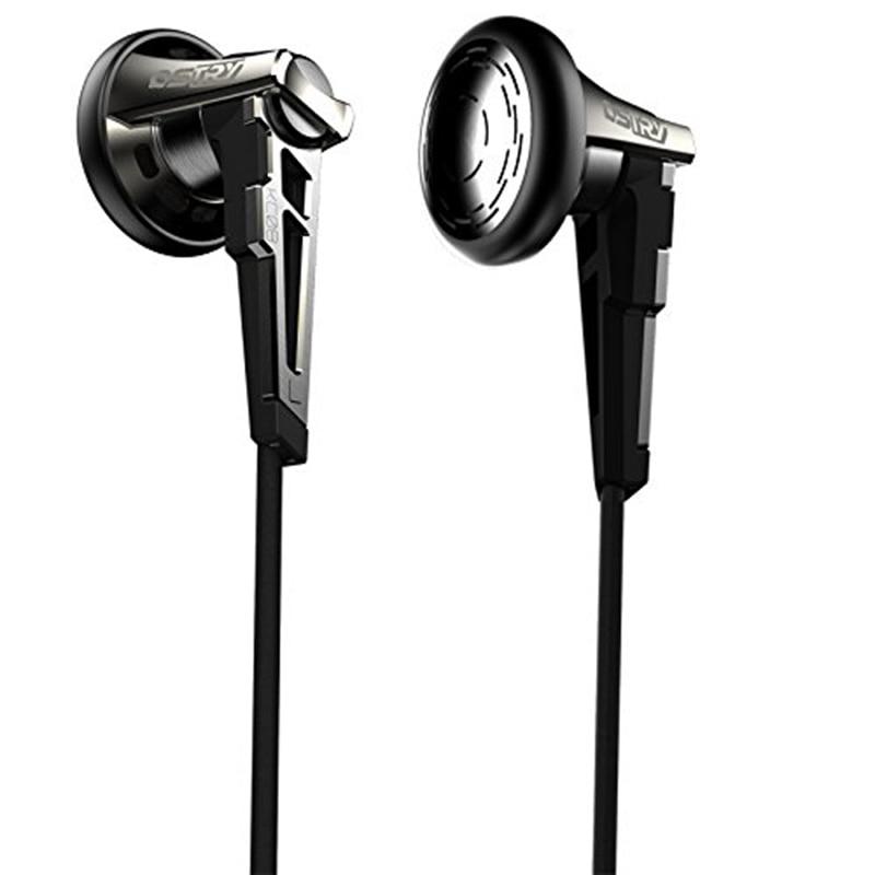 OSTRY KC08 HIFI Audiophile Grade Flat Earbuds Earphones недорго, оригинальная цена