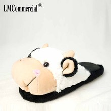 House Slippers Children men women home shoes indoor Lovers Warm Woman Slippers Winter Plush Home Floor Shoes