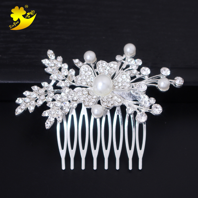 Xinyun Fashion Jewelry Women Hair Comb Hair Ornaments Wedding Hair Accessories Bridal Hair Comb Accesorios Pelo Boda Crown