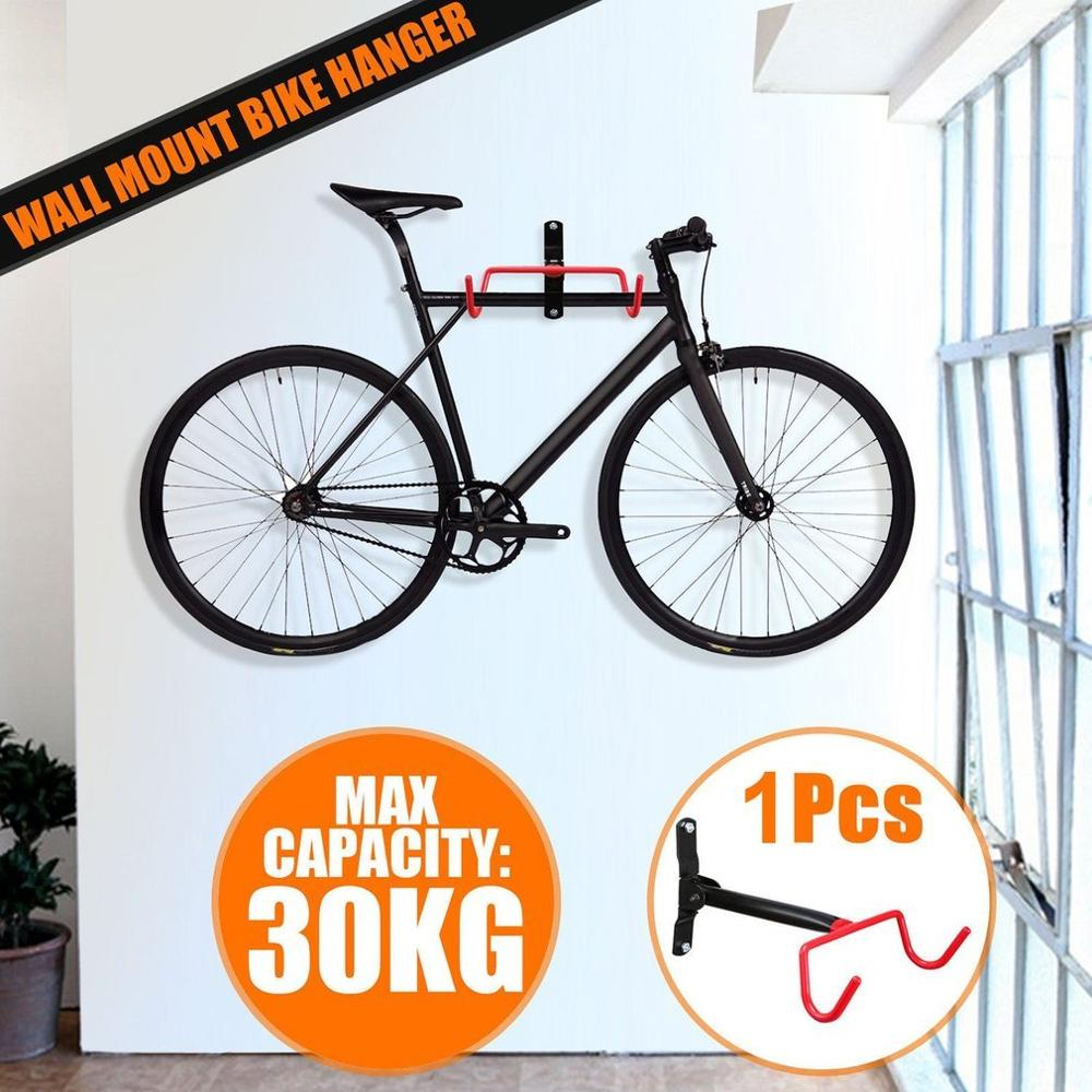 Wall Mount Bike Bicycle MTB Hook Hanger Cycling Rack Storage Garage Steel Holder