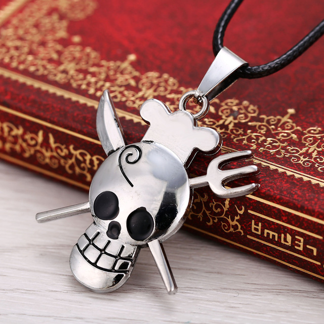 One Piece Sanji The Chef knife And Fork Pendant