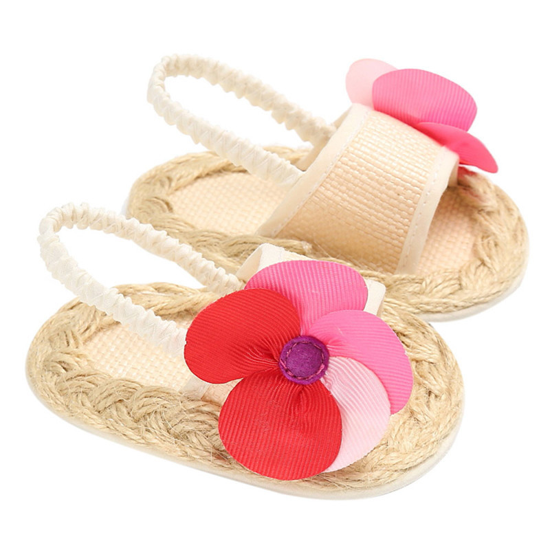 KLV Shoes Flower First Walkers Toddler Girls Autumn Baby Princess Casual Fashion