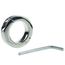 Round Smooth Metal Penis Ring Mens Scrotum Cock Rings Sex Toys Penisring Cockring For Men Bdsm Bondage sex products