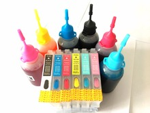 Ink Refill Kit For Epson Stylus Photo R200 R220 R300 R300M R320 R340 RX500 RX600 RX620 Printer