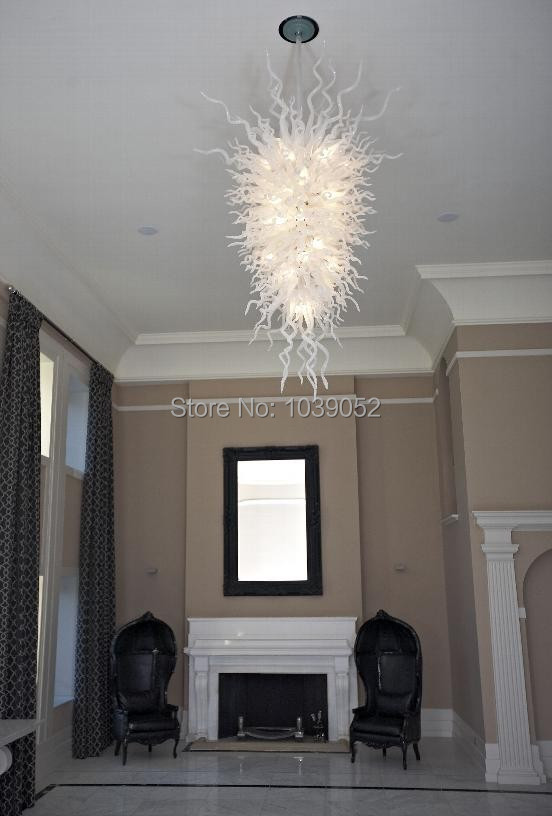 Online Wholesale Price Large White Modern Chandeliers China