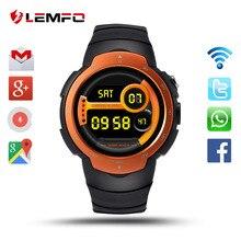 Лучшие LEMFO Смарт-часы Android 5,1 MTK6580 Поддержка 3g Wi-Fi Bluetooth gps sim-карты 2MP Камера IP67 Водонепроницаемый спортивные часы для для мужчин