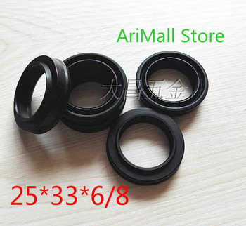 20pcs (25*33*6/8)Import Japanese SMC cylinder sealing ring gas seal seals pneumatic components shaft dust-proof