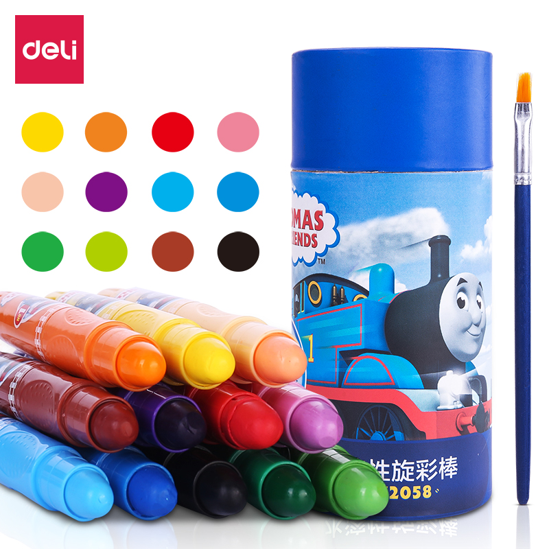 Water Soluble Rotary Color Stick Oil Painting Stick Water Soluble Crayon Drawing Crayons Colores Art Set For Kids Wax CrayonsWater Soluble Rotary Color Stick Oil Painting Stick Water Soluble Crayon Drawing Crayons Colores Art Set For Kids Wax Crayons