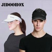 Brands Sunscreen Baseball Hats For Men Women Empty Top Visor Sports Cap Fitted Summer Golf Hats