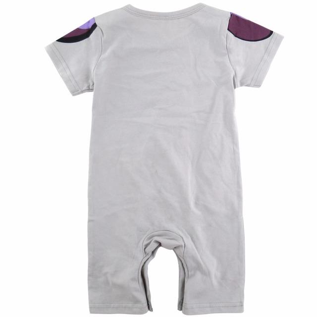 Bébé Garçon Freezer Costume Barboteuse Infantile Combishort D'or Freezer Dragon Ball Z Drôle Salopette