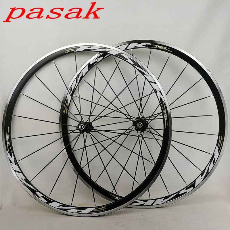 ff97376a349 700C Alloy Wheels Cosmic Road Bicycle Bike Wheel V Brake Aluminium Wheelset  Bicycle Wheels Rims Sealed