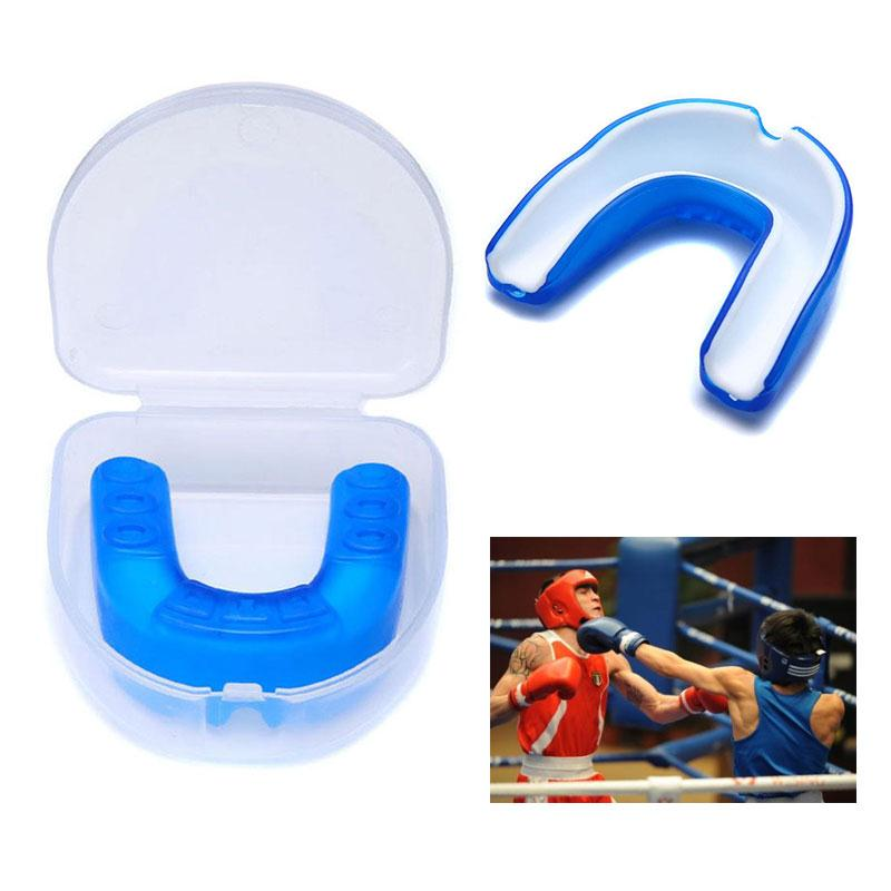 1 pcs Silicone Teeth Protector Adult Mouth Guard Mouthguard For Boxing Sport Football Basketball Hockey Karate Muay Thai