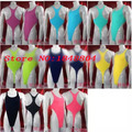 Mens Thong Bodysuit Stretchy alta corte Racer voltar Jersey Spandex