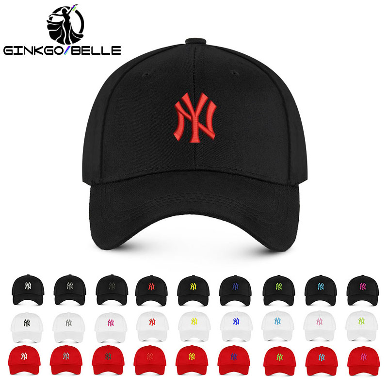 Unisex Casual Letter Embroidery New York Cotton   Baseball     Cap   Hiphop DAD Hats Men Women Fashion Accessory BM088