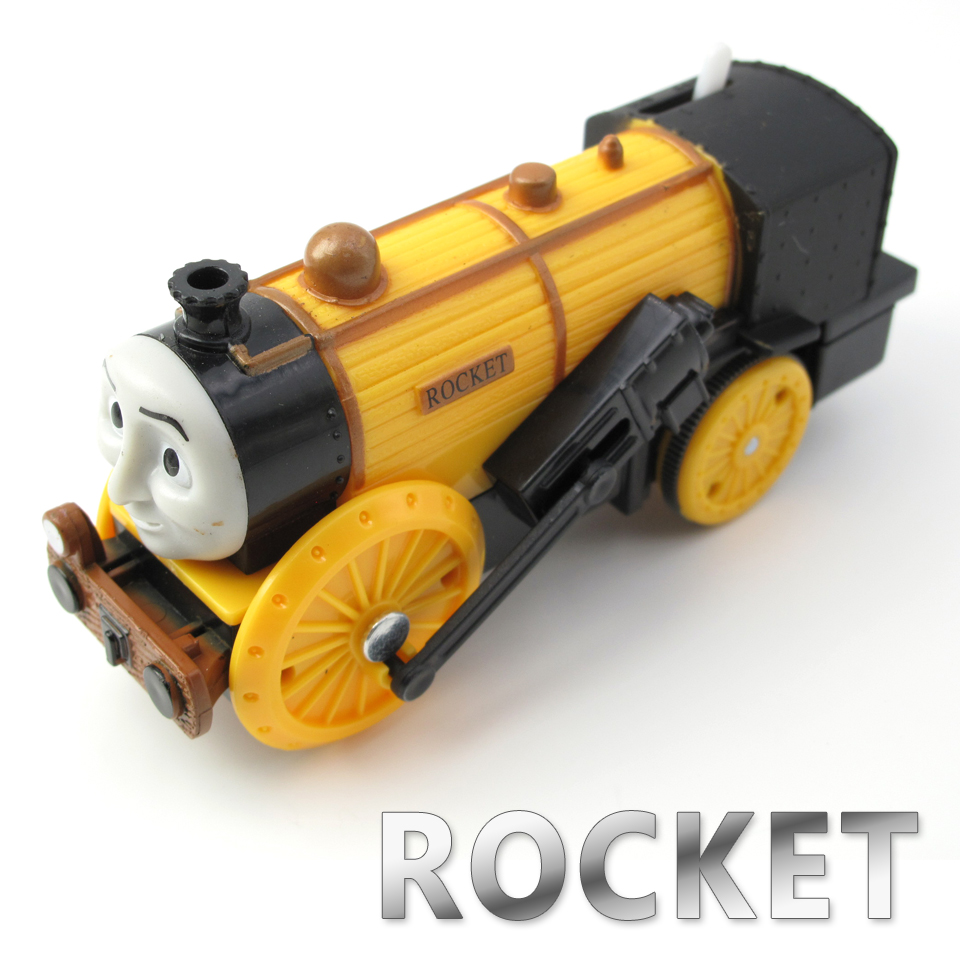Electric Thomas Train T110E ROCKET STEPHEN Thomas And Friends Trackmaster Magnetic Tomas Truck Engine Railway Toys for Boys
