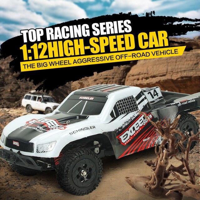 2019 offres spéciales Original SUBOTECH BG1507 1:12 voiture haute vitesse RC 2.4 GHz 4WD voiture Assebled Buggy véhicule jouet