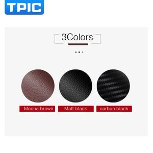 Image 2 - TPIC 車の kick パッドステッカー超薄型革 PVC ドア保護サイドエッジフィルムメルセデス w204 w205 w213 C E クラス