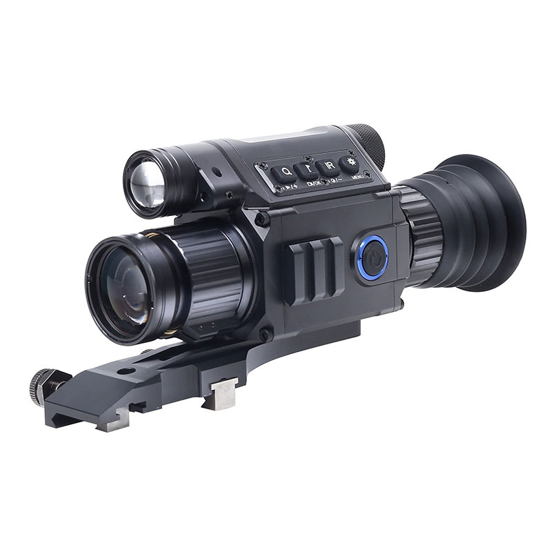 HD Hunting Digital Day Night Vision Rifle Scope Optics Tactical Sights Infrared Monocular Camcorder With Picatiny Rails