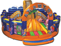 (China Guangzhou) manufacturers selling inflatable slides, inflatable castles,nflatable bouncer COB-83