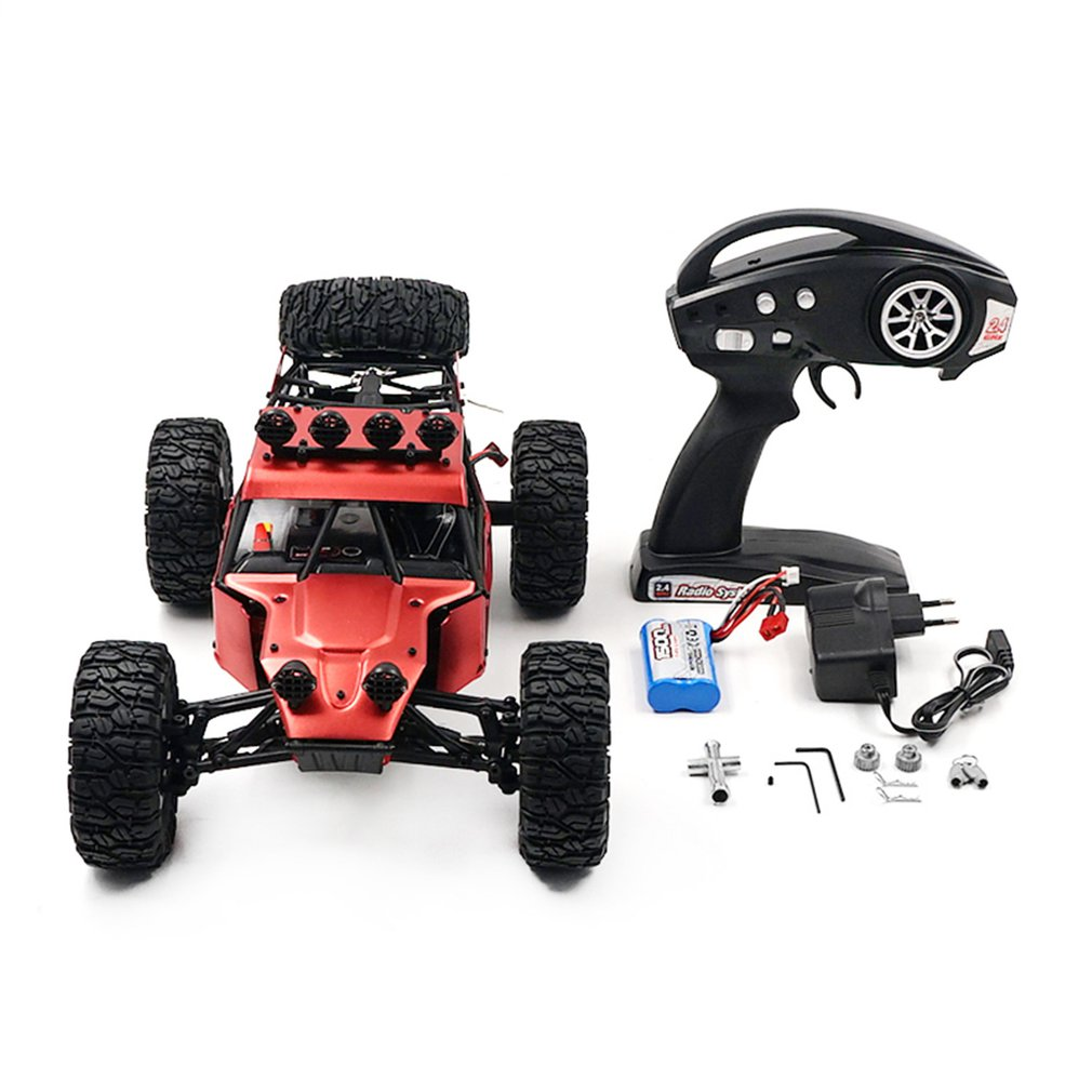 FY-03H 1:12 RC Car 2.4G Off Road Racing Truck Desert Climbing Car 4DW Toy Remote Control Vehicle Rock Crawler Brushless 35km/hFY-03H 1:12 RC Car 2.4G Off Road Racing Truck Desert Climbing Car 4DW Toy Remote Control Vehicle Rock Crawler Brushless 35km/h