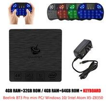 Beelink BT3 Pro Mini PC 2 4 5 8GHz WiFi Bluetooth 4 0 Ethernet 1000Mbps Windows