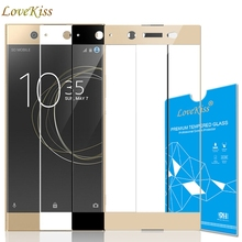 9H Full Cover Tempered Glass For Sony Xperia XZ XZS XZ1 X Compact Performance XA XA1 Ultra Case Screen Protector Protective Film
