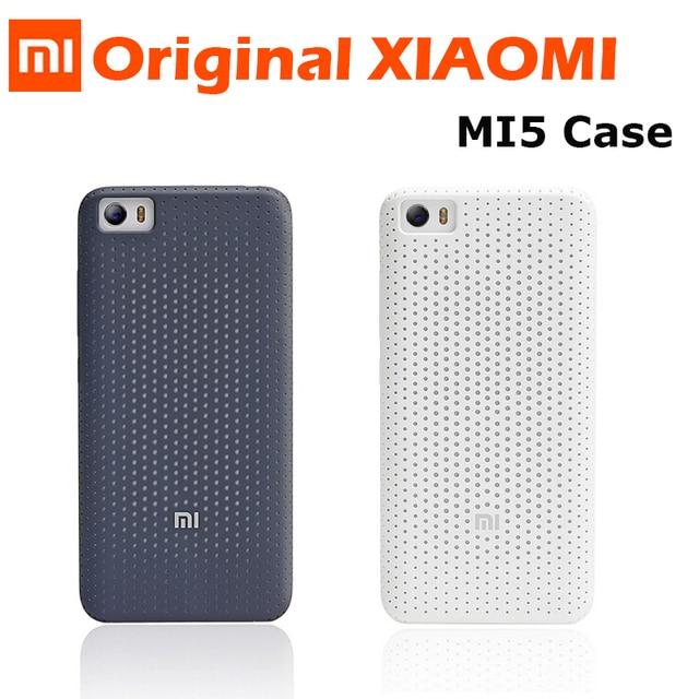 Original Xiaomi Mi5 Fall Abdeckung Super Mattschirm Harte Ruckseitige Fur Mi
