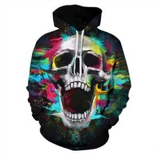 все цены на 2019 New Fashion 3d Hoodies Men/women 3d Sweatshirts Print Skulls Thin Hooded Hoodies Tracksuits Hoody Tops streetwear