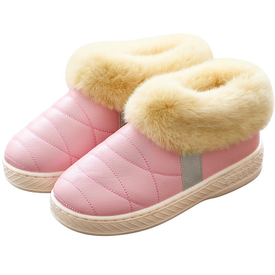 2019 Home Slippers Winter Shoes Women Fur Slippers Comfortable Ladies Slides Indoor Plush Shoes